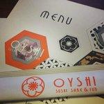 Oyshi Menu