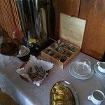 Herbata na stołówce