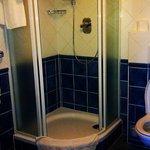 Panský dům, room Safír, bathroom