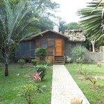 Exterior of Cotton Tree Cabana