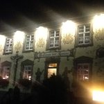 Night-time at Gasthaus zur Kanone