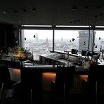 Hotel-Bar mit Aussicht