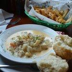 BEst Seafood Chowder & Poutine