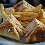 Lobster Club Sandwhich