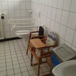 Kartoffelrestaurant Kiste, Tréveris. WC para minusválidos y niños