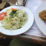 Kartoffelrestaurant Kiste, Tréveris. Guarnición de ensalada