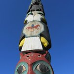 One of many local totems