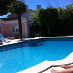 Love the pool and gardens and the best sun loungers!!
