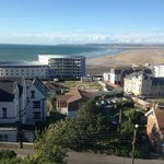 View from top floor bedroom window