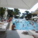 veduta  da una delle tante piscine