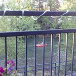 View of the Animas from China Cafe patio