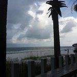 View from the beach house