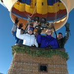 Ballooning in the Winter