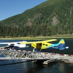 Float planes in Gold river