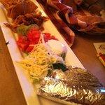 chicken taco appetizer