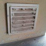 Unclean vents.