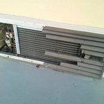 A/C unit next to our room.