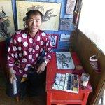 Bachto or Heartstone, the artist at Erdene Zu shops