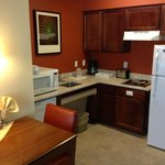 Kitchenette, nicely appointed.