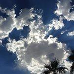 Arizona skies.