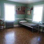 A coast guard room in the house