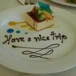 Our fond farewell from lunch at Vista Bellenas