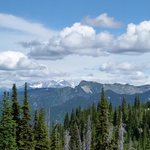 Panoramic view of Mt Begbie from Mt Revelstoke National Park