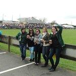 us Au-pairs at Kinsale 7s
