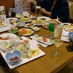 夕食(飲料は別料金)