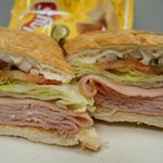 Oven toasted Ham Sandwich