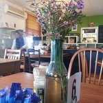 Nice wild flowers on each table