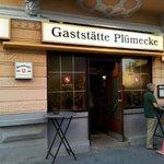 Outside of the Gaststätte