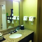 Hampton Inn San Luis Obispo Standard Room Bathroom