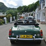 Our wee green 'B' on Harbour Street Plockton