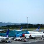 CLARION BERGEN AIRPORT - Vue depuis la chambre