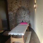 le salon pour les massages