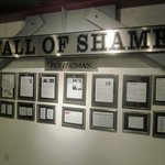 Wall of Shame: Politicians