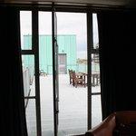 Privat terrasse til værelse 508
