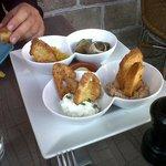 Copieuse assiette de tapas maison à partager