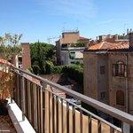 veiw from roof garden