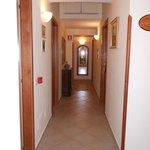corridoio interno - camere