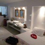 master suite sleeping area
