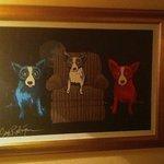 Blue Dog painting