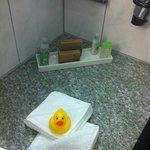 Sorpresa 2: paperella in bagno