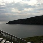 view into conception bay