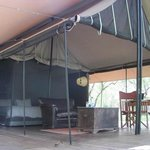 Deck / tent