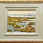 Barry Peckham ROI Original oil, Lymington River