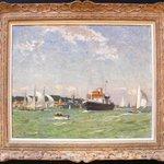 Norman Wilkinson original oil painting Cowes Week