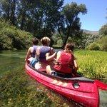 Kano-tocht door het natuurreservaat