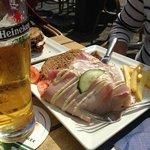 Ham & Mustard Sandwich